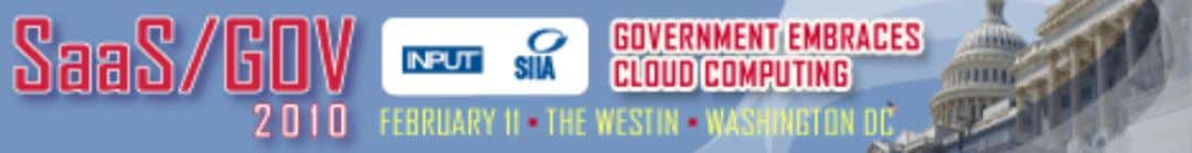 """SIIA pioneered the government cloud computing dialogue with its SaaS Gov conference. Now in its"