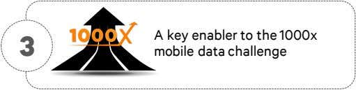 3 A key enabler to the 1000x mobile data challenge