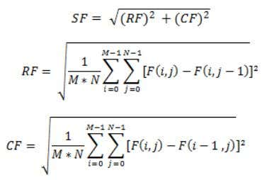 sharpness in fused image. The equation is given below: Table 1.Comparison of Multi-transform Methods on the