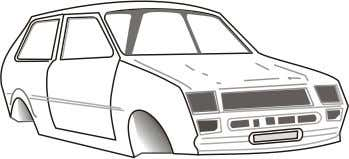 strength. A car body is an example of a shell structure. It is very important with