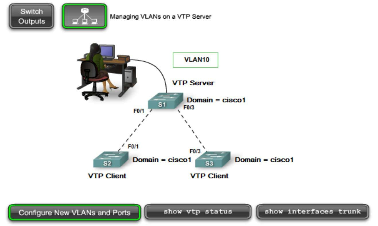 Managing VLANs on a VTP Server H ọ c vi ệ n m ạ ng Bach