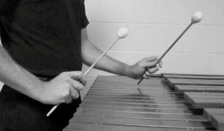 "fire straight down, and return to the high set position. Setting up the mallets and ""looking"