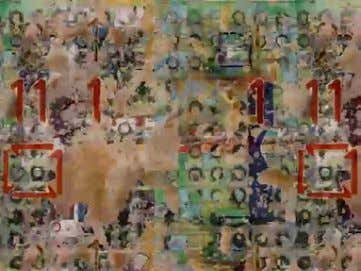 19a-e. Vertical Features Remix , 2006, video stills 81