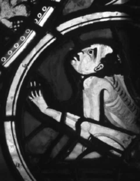 The Reception of Theophilus's Diversarium Artium Schedula Fig. 1 P oitiers, Cathedral, Crucifixion Window : Dead