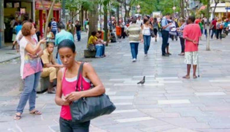 Note that station areas are not eligible for recognition. A pedestrian street in Rio de Janeiro,