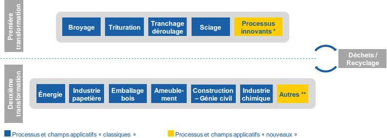 Tranchage Processus Broyage Trituration Sciage déroulage innovants * Déchets / Recyclage Industrie Emballage