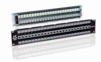 Patch Panel Description Products Category 6A Patch Panel Category 6 Patch Panel with Switch Port Category