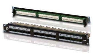 Products Category 6 Patch Panel Category 6 Modular Jack Panel UTP & STP RJ to RJ
