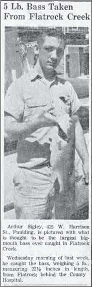 5 lb. and was 22.5 inches long. May 12, 1966 Local news Paulding County Senior Center