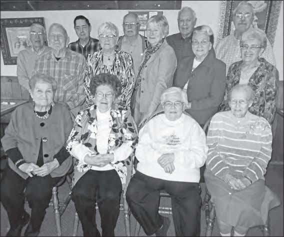 Wednesday, May 18, 2016 Paulding County Progress - 9A CLASS REUNION – Members of the Paulding