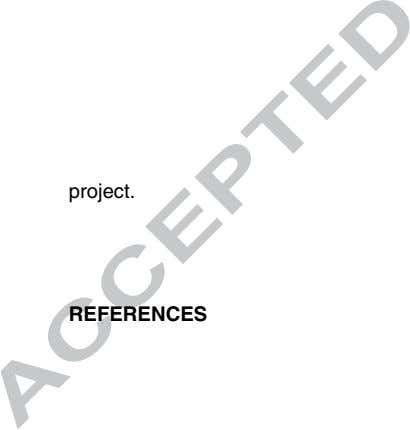 project. REFERENCES