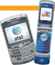 NEW WIRELESS DISCOUNTS from UNION PLUS and AT&T! and Savings Solidarity Enjoy special discounts on