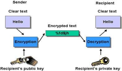 ● people cannot understand or use on normal equipment Encryption ● the translation of data into