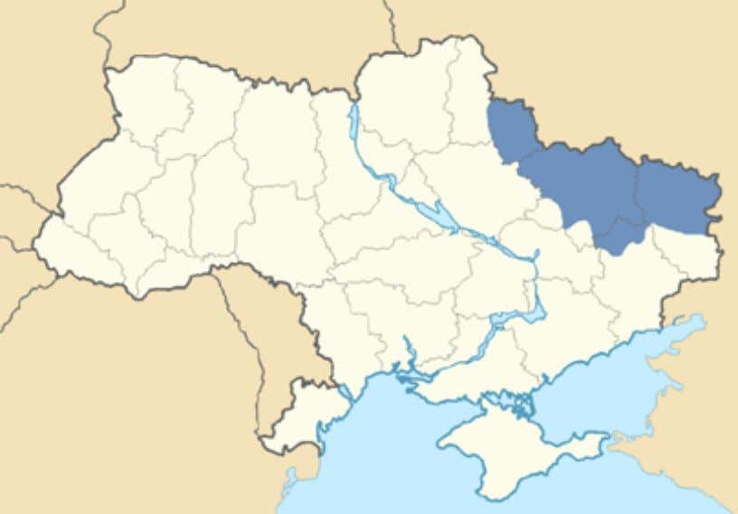 Slobodskaya ukraina 22 slobodskaya ukraina or slobozhanshchina, includes not only the ukrainian regions of kharkov and