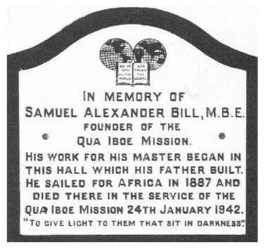 SAMUEL BILL 1864-1942 By the time you read this, the deadline for the submission of this