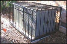 need in wrought iron might be, We are the one's to see! Security Cages for heating