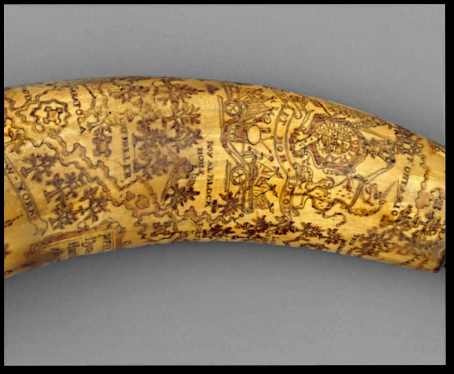 New York Powder Horn Carried by Peter Myer 1759 (Metropolitan Museum of Art)