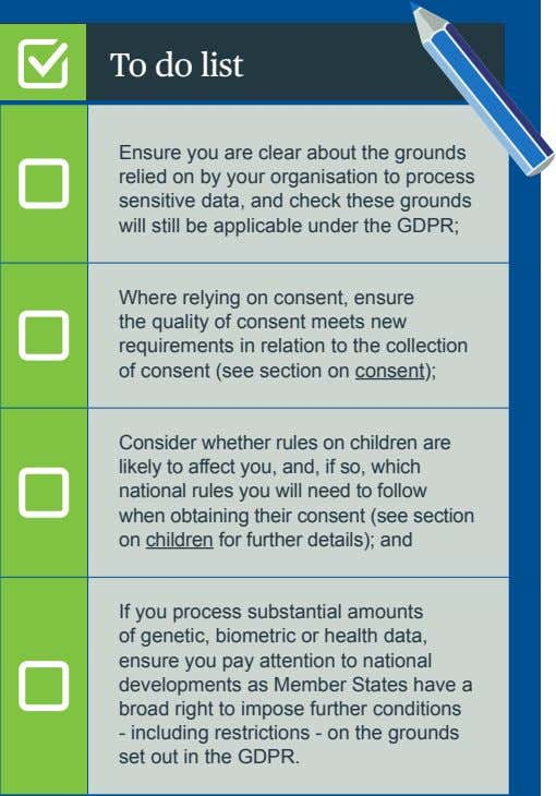 - including restrictions - on the grounds set out in the GDPR. 17 - © 2016