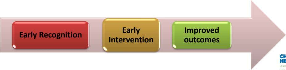Early Improved Early Recognition Intervention outcomes