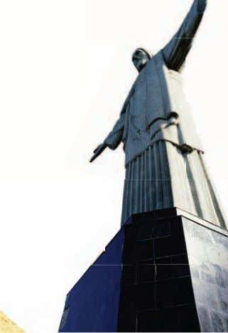 which was not invented until thousands of years later! 1.6 Christ the Redeemer statue, Rio de