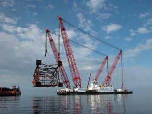 expansions - Deep sea installations Jacket installation Ship to ship/platform replenishment - Buoy systems etc… ABB