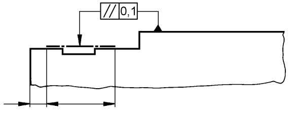 feature only, this shall be indicated as shown in figure 56. Fig 56 If a surface