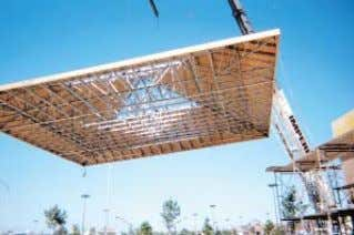 OVERVIEW Contractor & Installer Contractor-Friendly Installation Safer to Handle Unique features of TrusSteel trusses