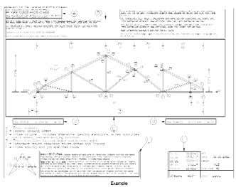 Truss ShopDraw T M and Layout T M Information ShopDraw Truss Shop Drawings with: • All