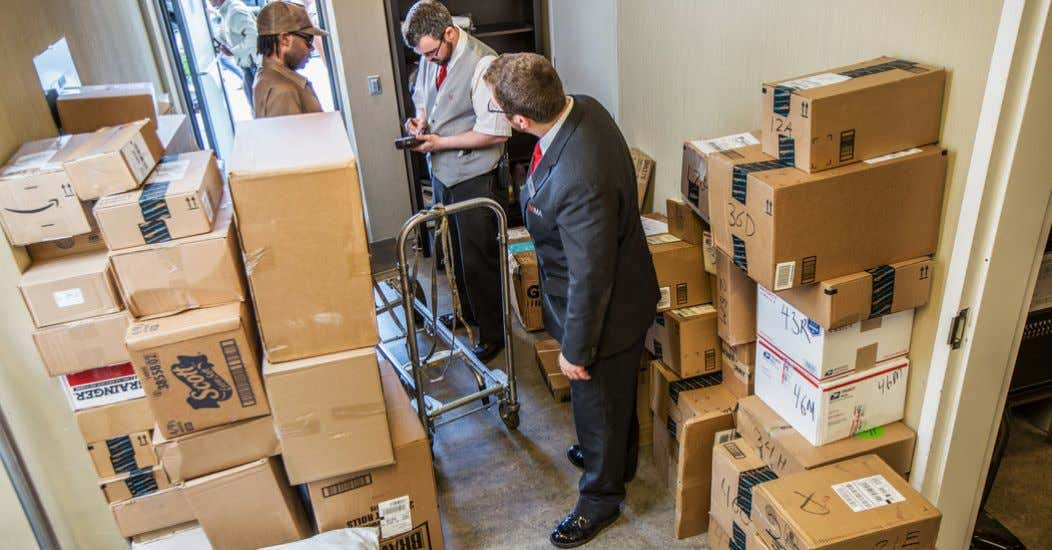 Package Rooms to Accommodate Rising Online Order Delivery Source: Image: NYTimes Photographer Tony Cenicola KP