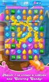 Up Candy Crush Saga Gain Experience Completing Puzzles Source: Left Images: Apptipper, King, Right Image: