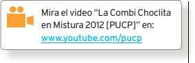 "Mira el video ""La Combi Choclita en Mistura 2012 [PUCP]"" en: www.youtube.com/pucp"
