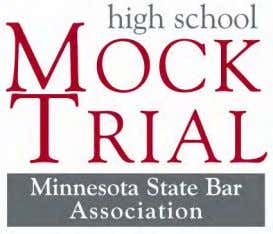 District Bar Association Nineteenth District Bar Association Special thanks to the Mock Trial Advisory Committee!
