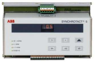 - 10 - SYNCHROTACT 5 Device types SYN 5100: Front view of SYN 5200, SYN 5201,
