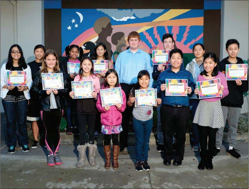 4 Tuesday • Jan. 17, 2017 LOCAL THE DAILY JOURNAL Young writer, artists recognized for MLK