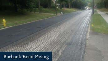 Burbank Road Paving