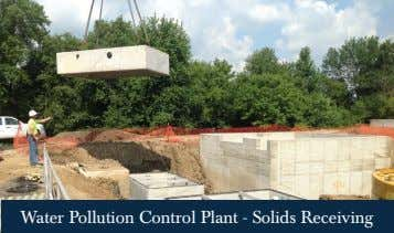 Water Pollution Control Plant - Solids Receiving