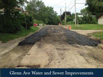 Glenn Ave Water and Sewer Improvements
