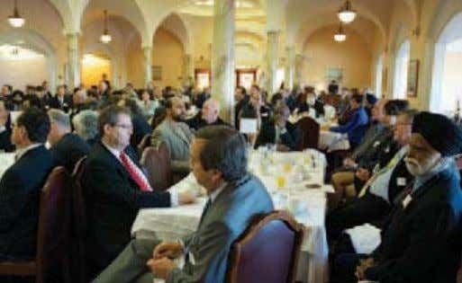 Forms of Intolerance and of Discrimination Based on Religion Participants in the Parliament Hill interfaith breakfast