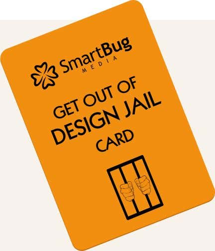 GET OUT OF DESIGN JAIL CARD