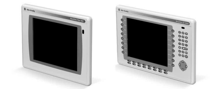 CE Terminals and Display Modules 2711P and 6182H English Inside: Overview 4 For More Information 4