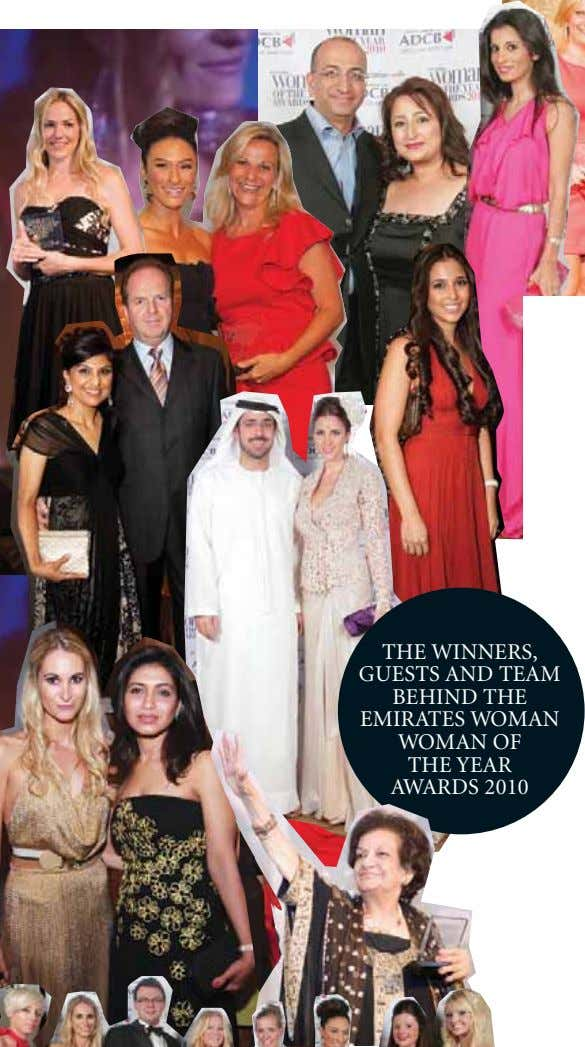 THE WINNERS, GUESTS AND TEAM BEHIND THE EMIRATES WOMAN WOMAN OF THE YEAR AWARDS 2010