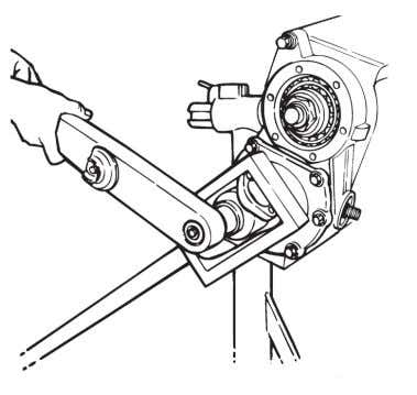 fastens the yoke or flange to the input shaft. Figure 3.20. Figure 3.20 5.Remove the capscrews