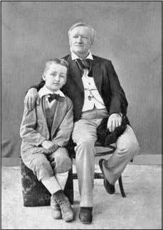Richard Wagner with his son, Siegfried, in Naples, 1880 C CHSA HSA 5 5060 060