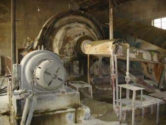 Author's photo Figure 20. Ball mill at current mill. VCL Source: Author's photo Recent production The