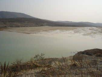 Source: Author's photo Figure 23. Current tailings dam. Source: Author's photo Figure 24. Current tailings dam.