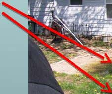 Infiltration & Exfiltration: This house had both…. The sewage on the ground, sewage flowing back into