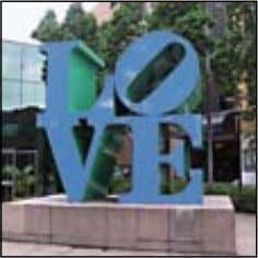 LOVE FEATURES Artwork Robert Indiana (American) LOVE , 1987 Patron Wing Tai Holdings Location Previously