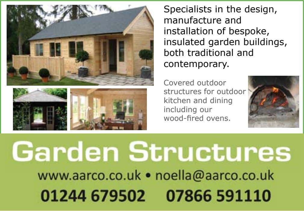 Specialists in the design, manufacture and installation of bespoke, insulated garden buildings, both traditional and