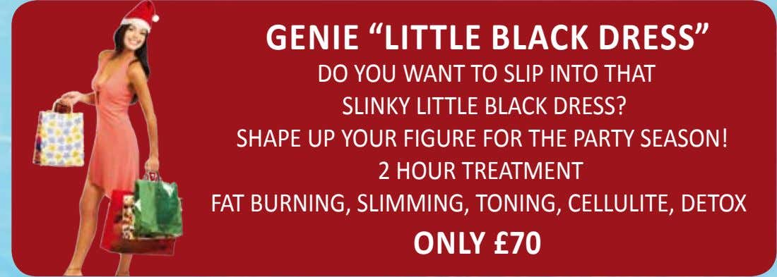 "Genie ""LiTTLe BLACK DReSS"" DO YOU WANT TO SLIP INTO THAT SLINKY LITTLE BLACK DRESS?"