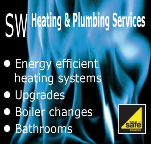 SW Heating&PlumbingServices l Energy efficient heating systems l Upgrades l Boiler changes l Bathrooms